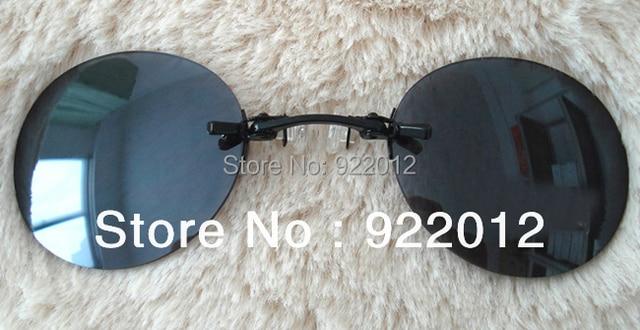 263e1e24e75 A113 Model Classic Round Clip On glasses Matrix Morpheus Sunglasses Matrix  Sunglasses Movie sunglasses rimless sunglasses