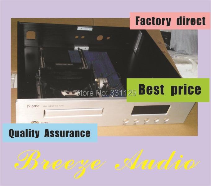Breeze Audio-Precision work CDM4 aluminum chassis (aluminum enclosure)(430*90*360mm) breeze audio aluminum chassis 4308 preamp aluminum enclosure