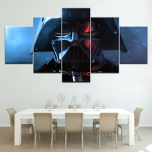 Star Wars: The Force Unleashed II 5 Piece Canvas Wallpapers modern Poster Modular art painting for Living Room Home Decor