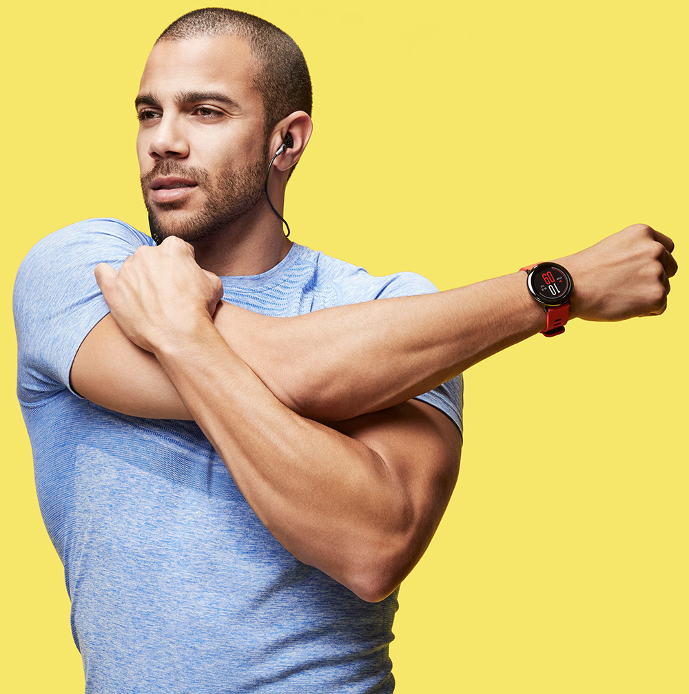 HUAMI AMAZFIT PACE SMART WATCH GPS SMARTWATCH WEARABLE DEVICES SMART WATCHES ELECTRONICS FOR XIAOMI PHONE IOS 32