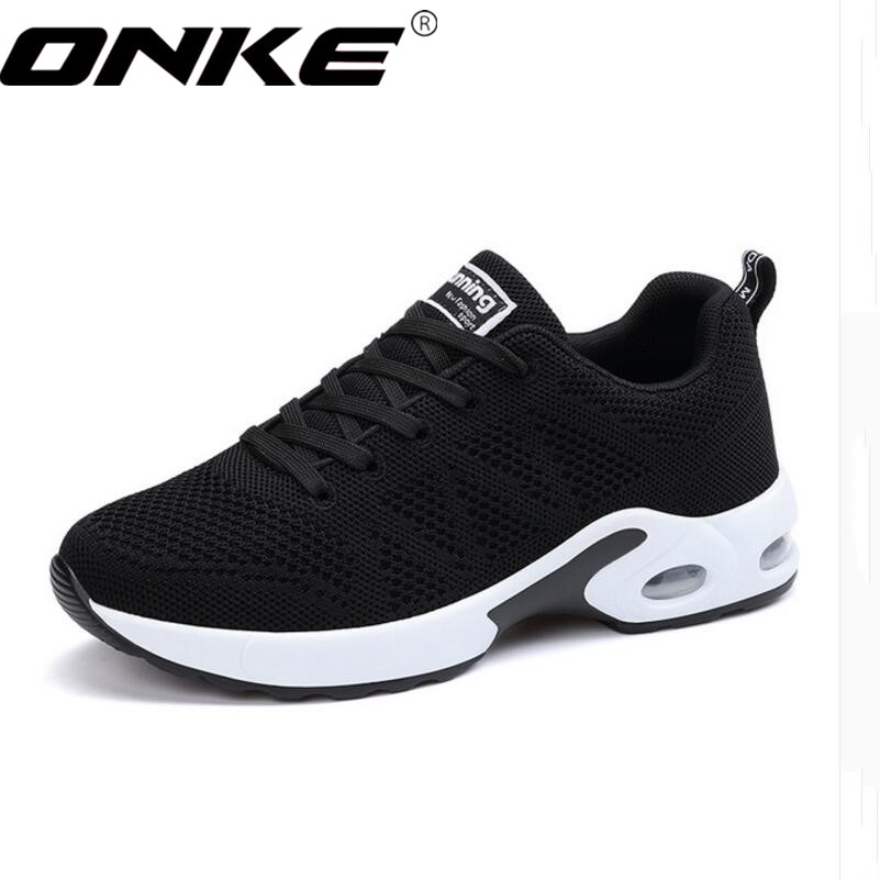 ONKE New listing hot sales Spring and Autumn net  Breathable Fly line   women and men  running shoes lovers sneakers  A22-A22N