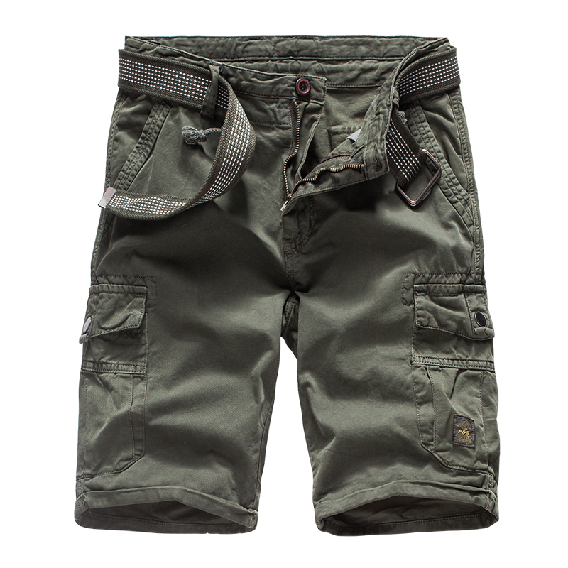 2019 Cargo Shorts Men Camouflage Army Military Casual Shorts Summer Cotton Quality Work Shorts Homme Drop Shipping ABZ291