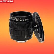 FUJIAN 35mm F1.7 CCTV F1.7 Objectif + C-N1 Montage Anneau pour Nikon 1 J5 S2 J4 V3 AW1 S1 J3 V2 J2 J1 V1