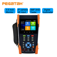 New 3.5 Inch H.265 8MP IP Camera CCTV tester 5MP AHD Monitor tester Rapid ONVIF TDR Built in WIFI PoE Security camera tester