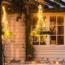 New 1PCS christmas decorations for home  lights 3m 30 lights Copper Wire wedding Christmas tree decoration LED string ornaments