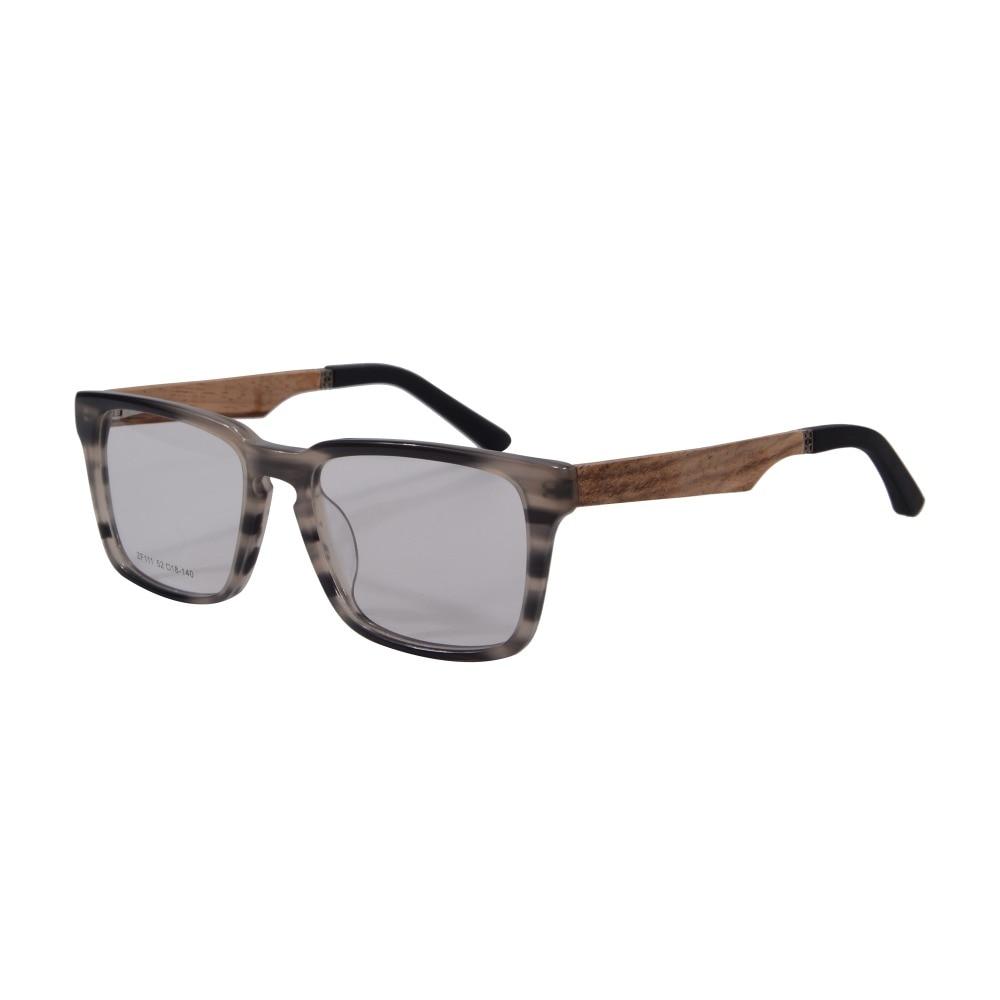 most popular eyeglasses l96k  Popular Handmade Spectacle Frame Fashion Glasses Women Men Brand Designer  Eyeglasses Frames Eyewear Prescription Oculos ZF111