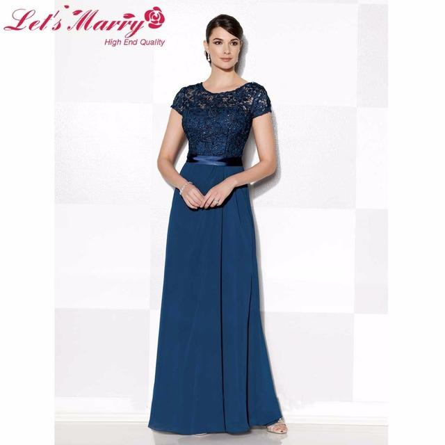 Mãe elegante dos Vestidos de Noiva Lace 2017 Vestido de Madrinha vestido de Festa À Noite Vestidos de Casamento Mães de Para Madrinha de casamento