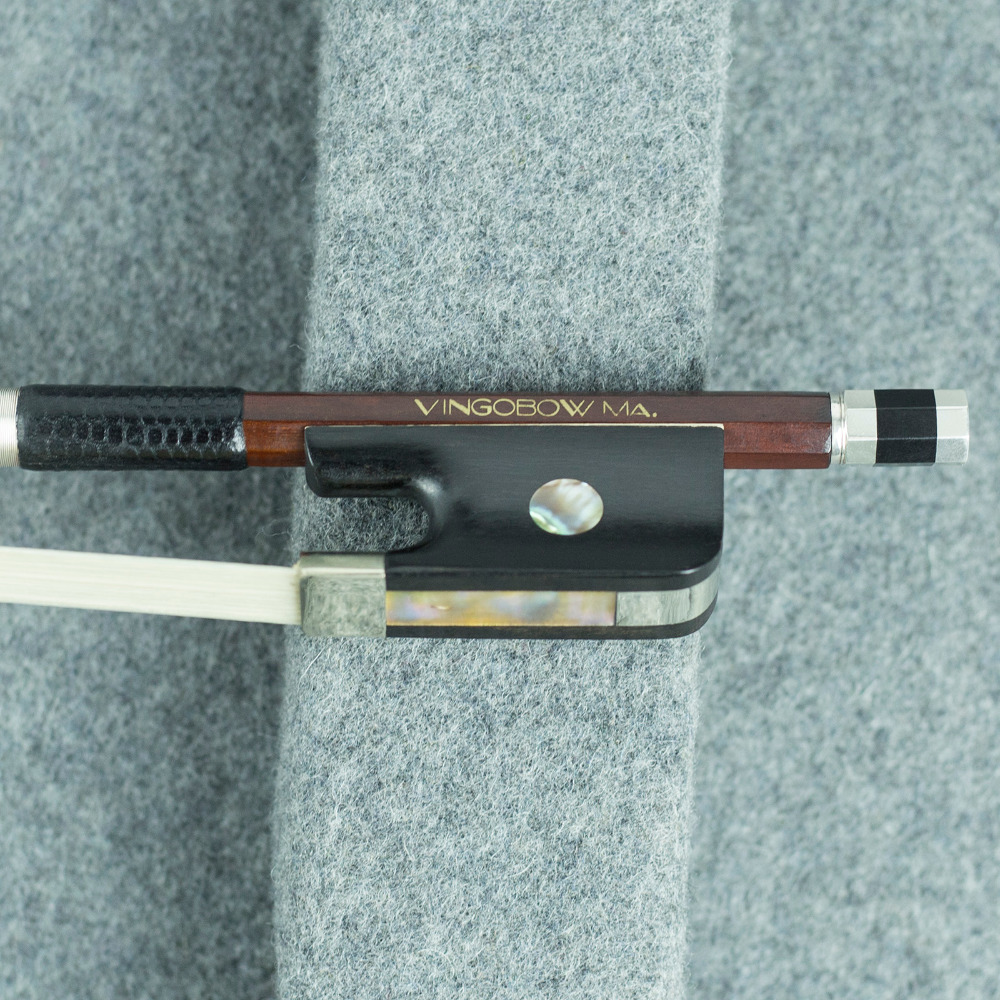 VingoBow Master Pernambuco Cello Bow Straight and Hard Stick Natural Mongolia Horsehair 920C 4 4 Size