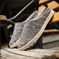 2017 Hombres Del Verano zapatos Casuales Pescador de Caña de Zapatos Zapatos de Lona Transpirable Zapatos de Los Hombres Al Aire Libre de Vacaciones