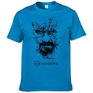 Image 4 - 2017 אופנה חדשה גברים חולצות T הייזנברג Breaking Bad Camisetas Hombre גברים חולצות חולצות חולצות שרוול קצר חולצת טריקו מגניב #191