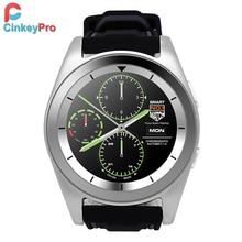 CinkeyPro Inteligentes Hombres Reloj G6 1.2 pulgadas IPS MTK2505 Smartwatch Podómetro Del Ritmo Cardíaco Del Deporte para Samsung iPhone de Apple Android