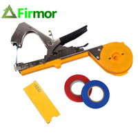 FIRMOR Tying Machine Garden Machine Plant Tapetool Tapener with 10 Rolls Tape for Vegetable Grape Tomato Pruning Tools