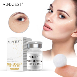 AuQuest New Collagen Silk Thread Ball Hydrolyzed Remove Acne Wrinkle Fine Line Moisturizing Age-Defying Face Serum Skin Care