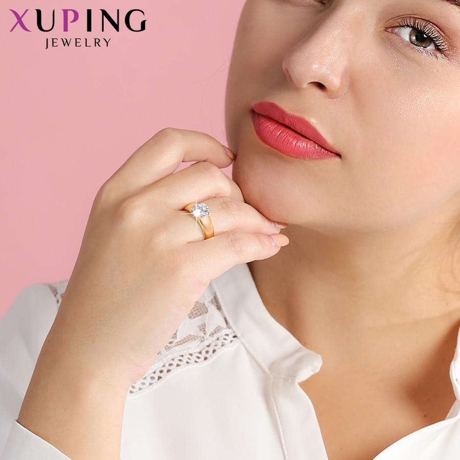 Xuping Božićni Luksuzni Prsten Popularni dizajn Charm Style - Modni nakit - Foto 3