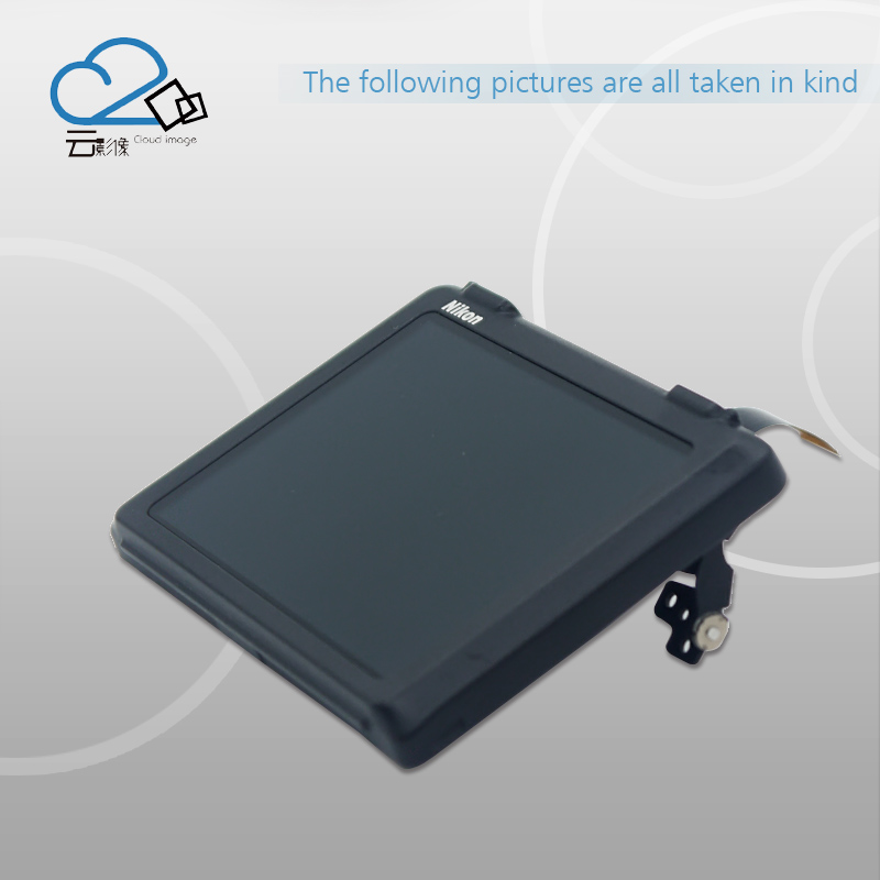 D500 Back Cover LCD Rear Shell Display Screen with flex cable Repair Parts For Nikon free shipping test ok d750 back cover with lcd display screen back case with menu button flex cable fpc for nikon