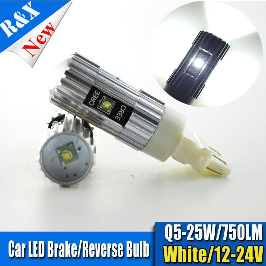 2pcs High Power 25W CANBUS 3156 3056 3157 P27/7W Car LED Light Bulbs P27/7W For Brake Tail Reverse Light Daytime Running Lights