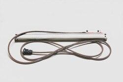 Tokarka skala liniowa 5 mikronów 1000 1100 1200 1300 1400 1500mm frezowanie  enkoder liniowy z 3.5 metr kabla