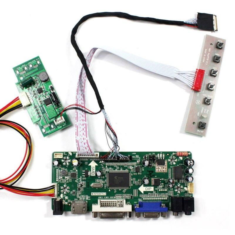 HDMI VGA DVI AUDIO input LCD Controller Board M.NT68676.2A work for 15.4inch LP154WE3-TLA1  B154SW02 V1 1680x1050 LCD panelHDMI VGA DVI AUDIO input LCD Controller Board M.NT68676.2A work for 15.4inch LP154WE3-TLA1  B154SW02 V1 1680x1050 LCD panel
