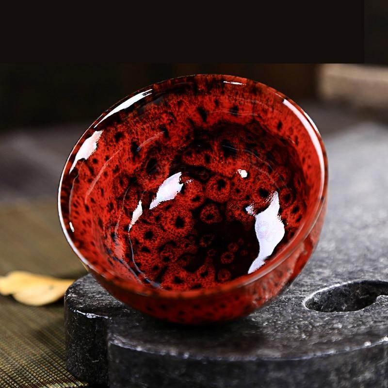 Yohen Temmoku Glaze Teacup