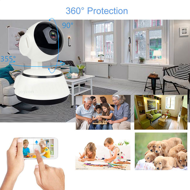 1080P HD Wireless Baby Monitor Camera With Auto Tracking Night Vision Mini Cam 5
