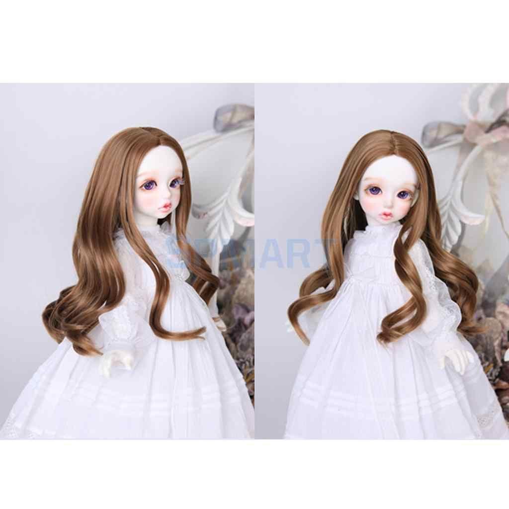 1/3 1/4 1/6 BJD смарт кукла волосы волна вьющиеся парик для DOD SD Dollfie Лолита DIY Аксессуары #1