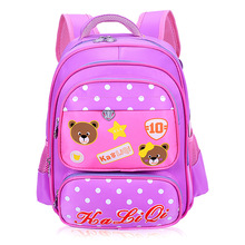 Aged 3-6 Girls Boys School Bags Cute Animal Bear Prints Children Backpacks 16 Inch Kids Book Bags Mochilas Escolares Infantis