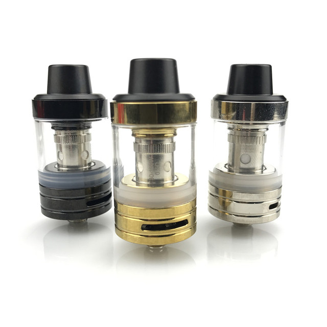 JVSURF Atomizer 3ml Top Tank Head Coils for Vape Electronic Cigarettes Vape Starter Kit 100W 22mm Coils Cap Drip Tip 1pcs