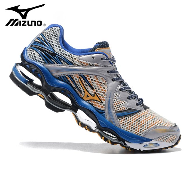 best loved 22e5b 9215f Original Mizuno Wave Prophecy 1 Men Shoes Sport Running Shoes Weightlifting  Shoes 5 Colors Light Weight
