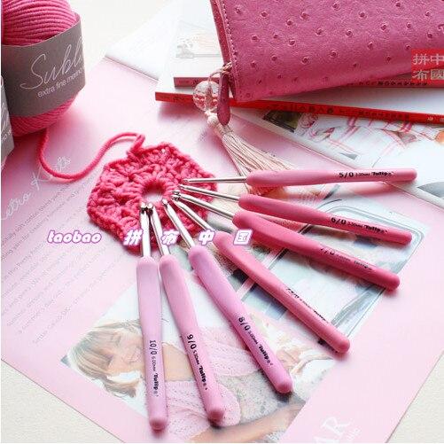 Japan ETIMO Hiroshima Rose crochet / wool crochet 1 order=1pc (NO.2/3/4/5/6/7/7.5/8/9/10/10.5)Japan ETIMO Hiroshima Rose crochet / wool crochet 1 order=1pc (NO.2/3/4/5/6/7/7.5/8/9/10/10.5)