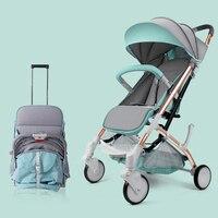 Babygrace легкий коляски складной Портативный путешествия коляска компактный Детские коляски для новорожденных безопасности Детские коляски