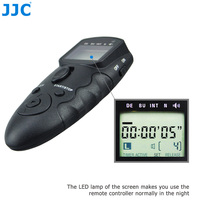 JJC Multiple DSLR with Remote Interface and IR Receiver Camera Wired Infrared Timer Remote Controller for Canon EOS 1D Mark IV