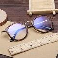 Laura de Fadas Do Vintage Rodada Óculos de Armação de óculos para As Mulheres Homens Liga PC Patchwork de Alta Qualidade Óptica Armações de Óculos Transparente
