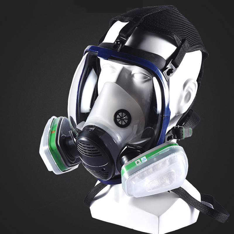 Painstaking Industrial 7-in-1 6800 Full Face Gas Mask Respirator With Filtering Cartridge Chemical Mask For Painting Spraying Similar For 3m Back To Search Resultshome