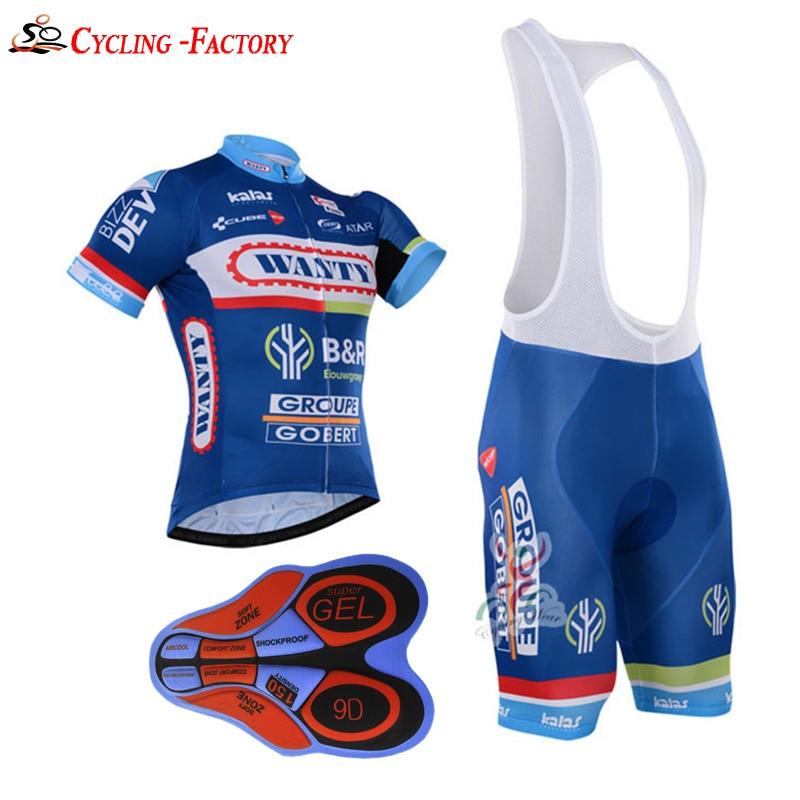 Prix pour 2016 Hommes Court vêtements de Cyclisme kits 5 couleur cuissard vélo kits Ropa Ciclismo Vêtements ensembles Hombre Maillot Ciclismo