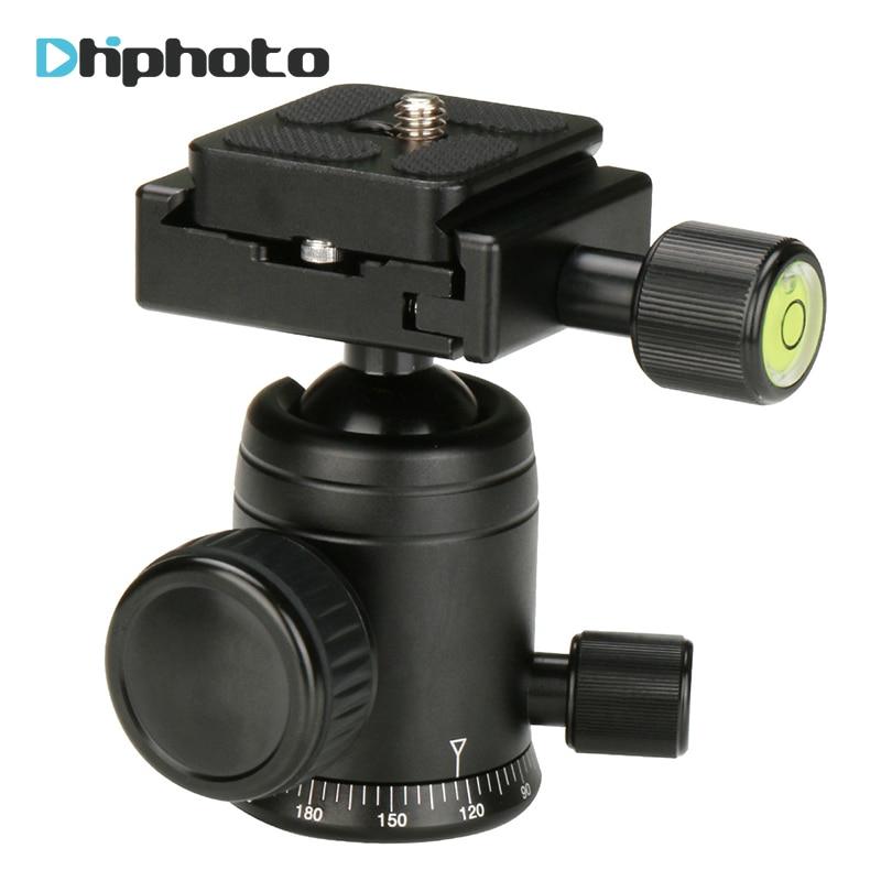 Ulanzi Aluminum Camera Tripod Head Ballhead with Quick Release Plate for MICRO 1 Pocket Slider for DSLR Camera Tripod