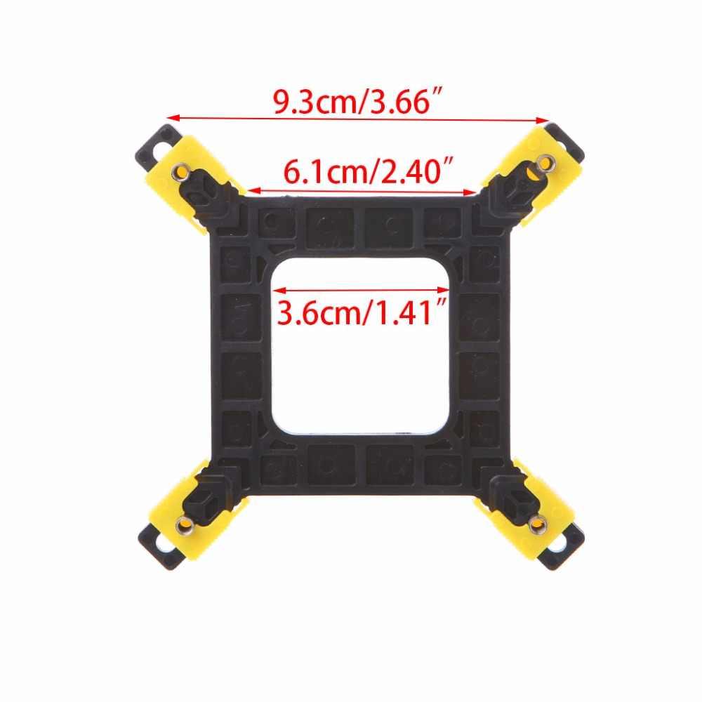 Multi-plataforma/775/1155/1156/1366 CPU Backplane escritorio placa enfriador soporte