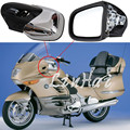 Chrome Motorcycle Rearview Side Mirrors Fit For BMW K1200 K1200LT K1200M 1999 2000-2008 2007