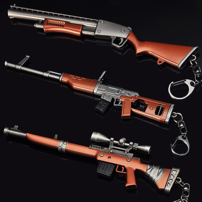 Quinze jours Nuit QUINZE JOURS Action Figure M4 Fusil Sniper Fusil Arme Modèle Alliage Armes Jouet Bataille Royale Nuit Fort