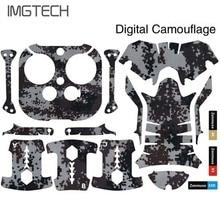 À prova d' água Adesivos PVC Decoração Paster Adesivo Decalque De fibra de Carbono para DJI Inspire 1 Acessórios RC quadcopter drones