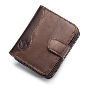 BULLCAPTAIN Genuine Leather Me