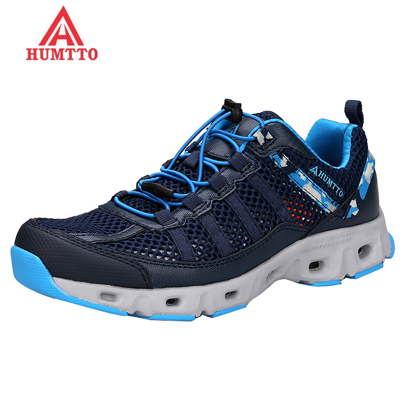 HUMTTO Brand 2018 Hiking Shoes Men Summer Breathable Professional Outdoor Trekking Water Shoes Climbing Fishing Man