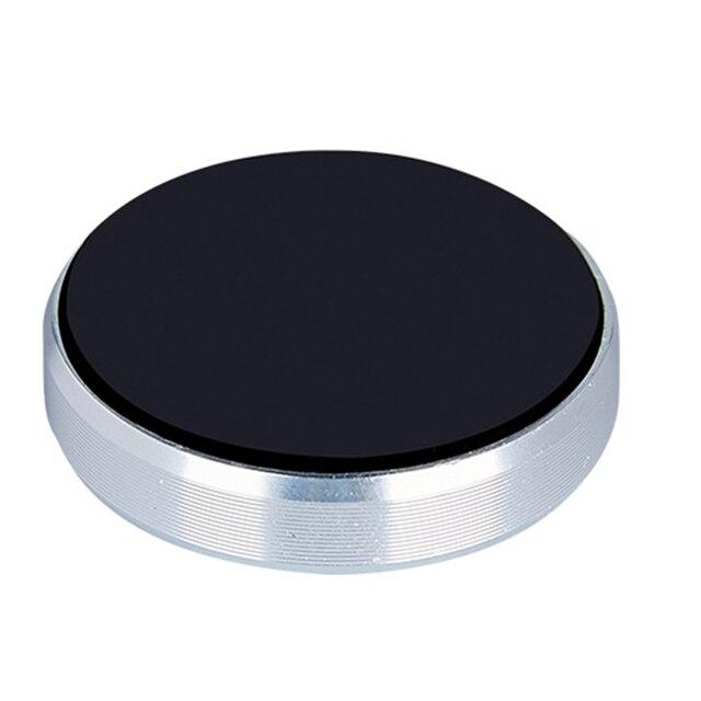 Haobuy Mini Magnetic Mobile Phone Holder Car Dashboard Bracket Phone Stand Holder For Smartphone iPhone Samsung Magnet Mount