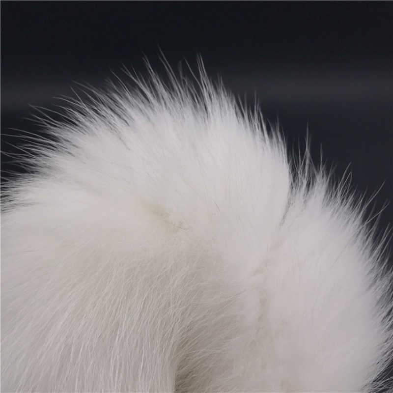 Plugs anais Caudas Caudas Ânus Flertando Pena Branca Talão Grande Inoxidável Cauda Butt Plug Anal Sex Toys para Casais de pelúcia H8-5-149G