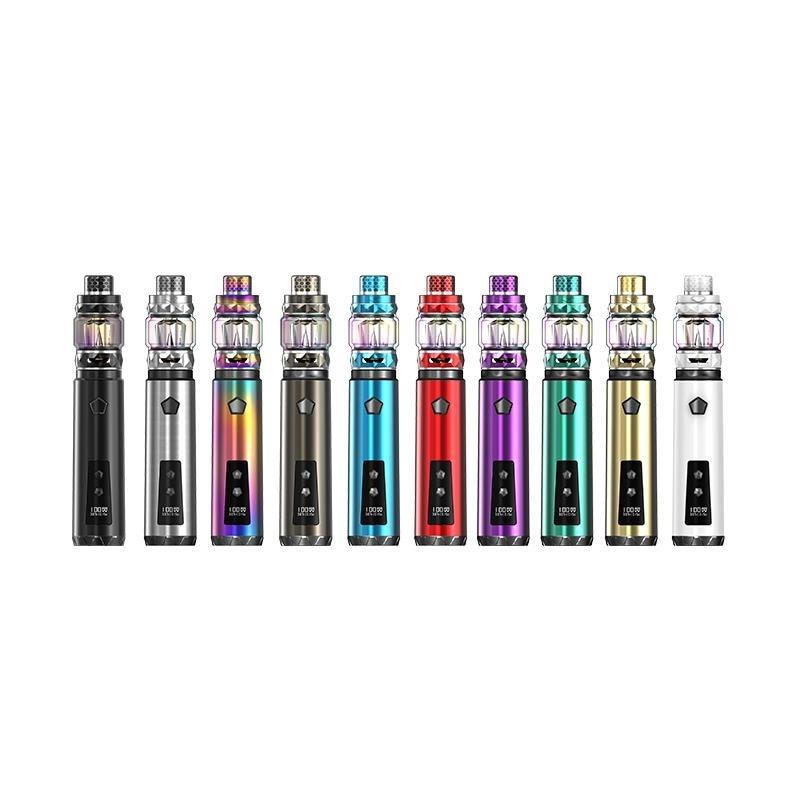 D'origine IJOY Sabre 100 w Boîte Mod E-Cigarette Kit 20700 Batterie 810 Résine Goutte À Goutte Pointe Vaporisateur Vaper 25mm 5.5 ml Réservoir Atomiseur Vape