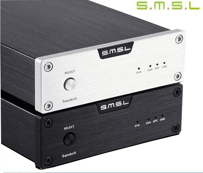 2017 Limitée SMSL Sanskrit 6th Anniversaire Numérique Audio Décodeur DAC WM8740 CM6631A Asynchronou USB/Coaxial/Optique 32Bit/ 192 khz