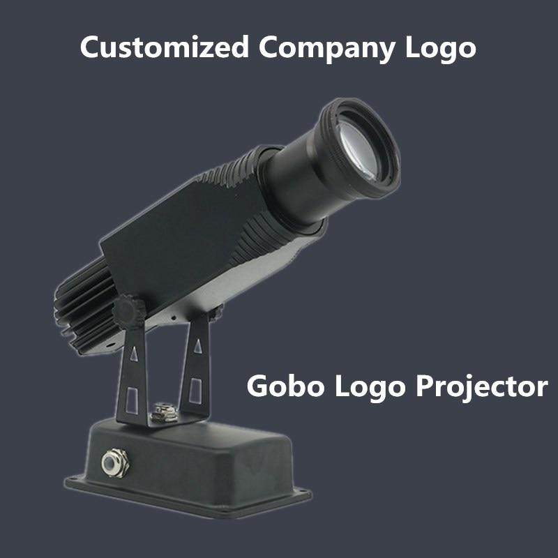 Gobo Logo projecteur 15 W 25 W 45 W annonces magasin centre commercial Restaurant bienvenue Laser ombre conception propre logo personnalisé affichage publicité Foo