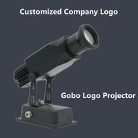 Gobo Logo Projector 15W 25W 45W Ads Shop Mall Restaurant Welcome Laser Shadow Design Own logo Customized Display Advertising Foo
