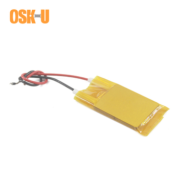 2PCS 70x8x3mm PTC Electric Heater Element 24V 140 Degree Constant Temperature PTC Heating Plate Insulated Film Wattage 5-25W