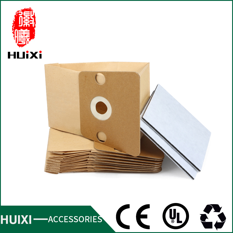 10 pcs Vacuum cleaner paper dust bags and two three layer filter with high  quality of vacuum cleaner parts for RO400 RO410 etc dust bags and dust bucket of vacuum cleaner parts with high efficiency for vt02w 09b t3 l201b etc