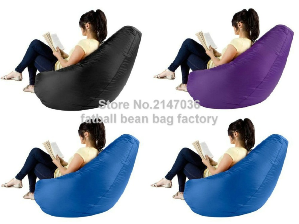 Home furniture flag bean bag chair cover Indoor/outdoor arm chair chaise lounge bean bag